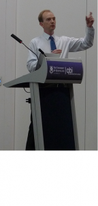 Damian McConnell presenting at Queensland Brain Institute