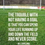 trouble with not having a goal is